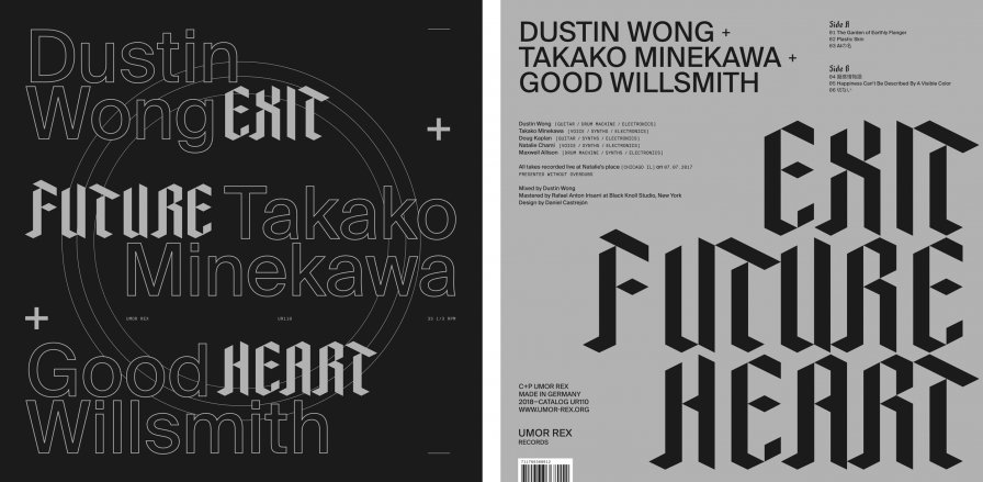Dustin Wong, Takako Minekawa, and Good Willsmith collab 2 da max on new improv LP for Umor Rex
