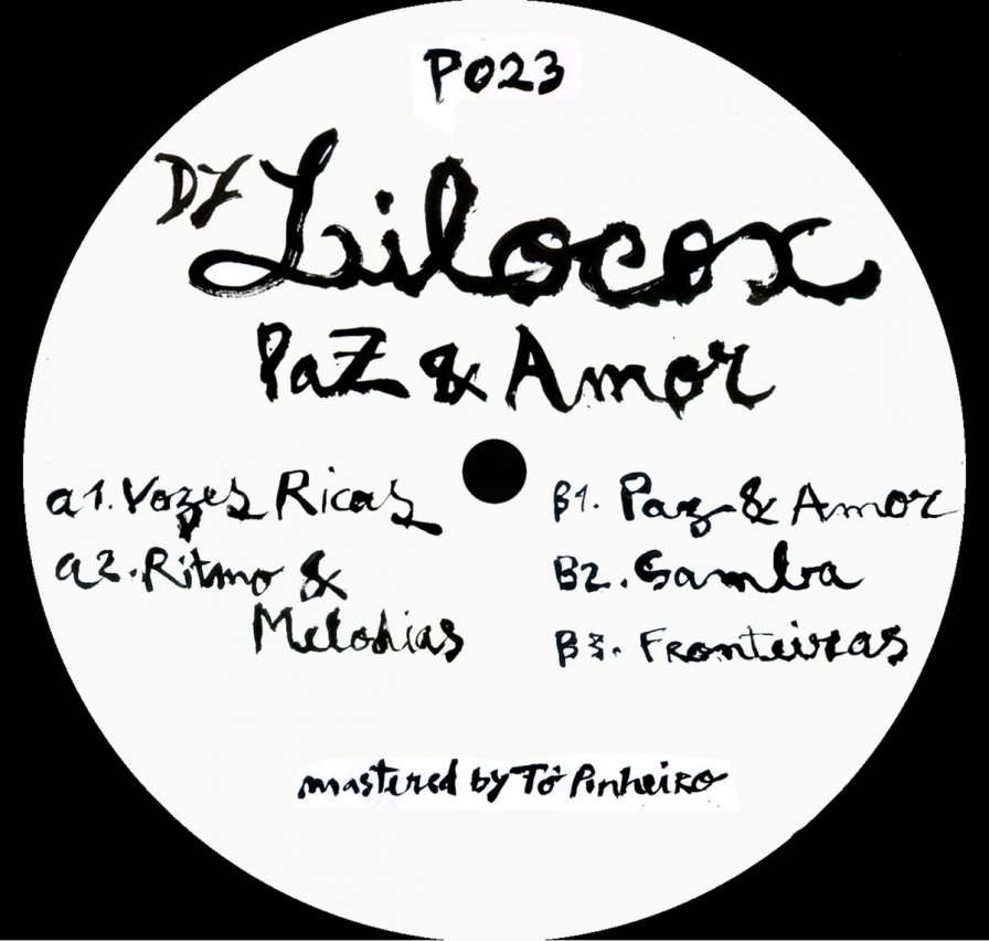 DJ Lilocox announces debut solo EP on Príncipe, Paz & Amor (peace and love, man)