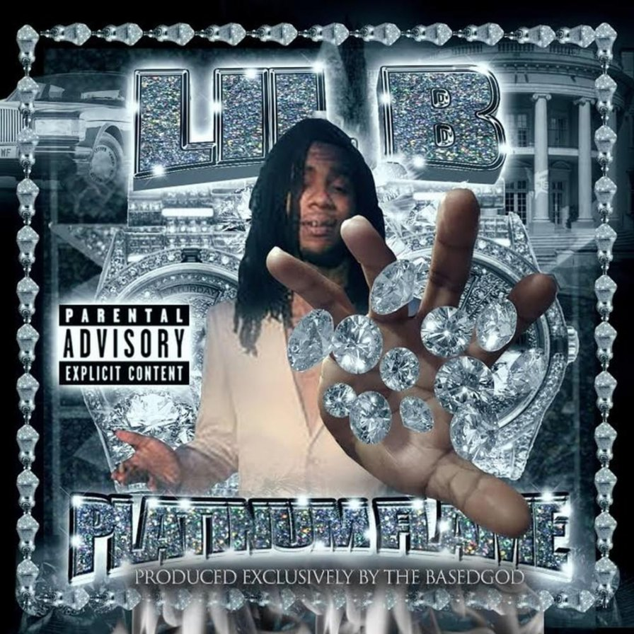 Lil B's Platinum Flame mixtape is out now to burn-up and ice-down those charts at the same time!