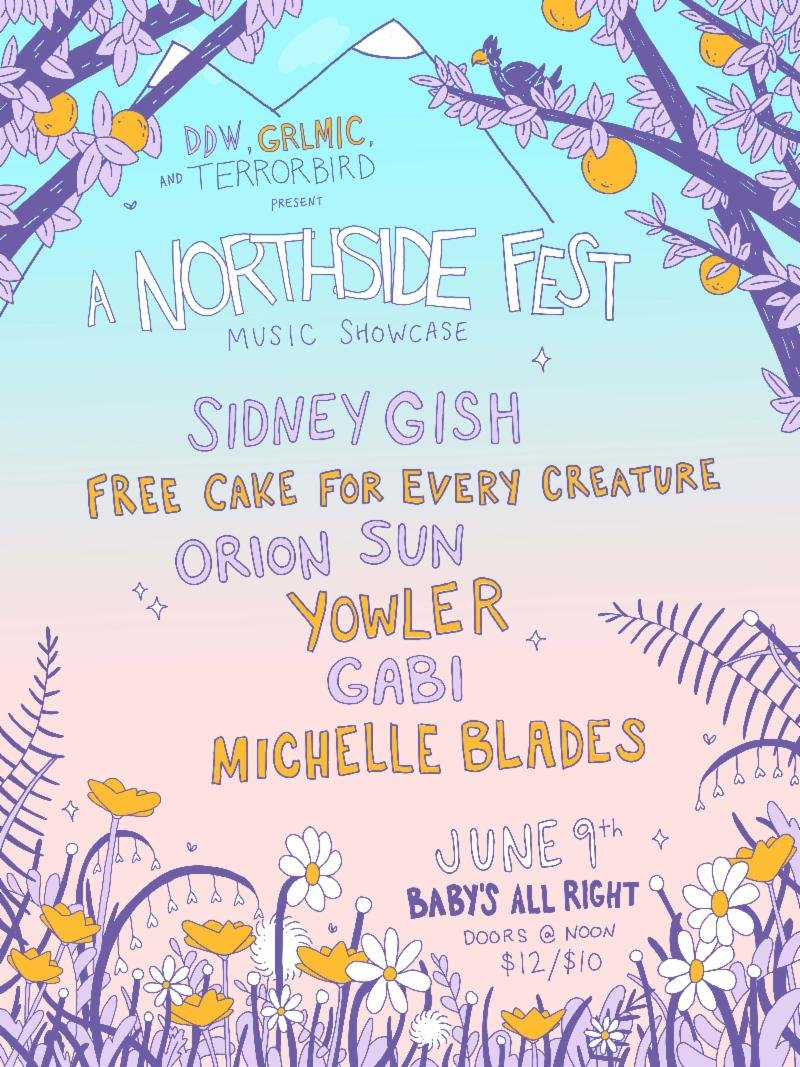 Northside Festival lineup at Baby's All Right
