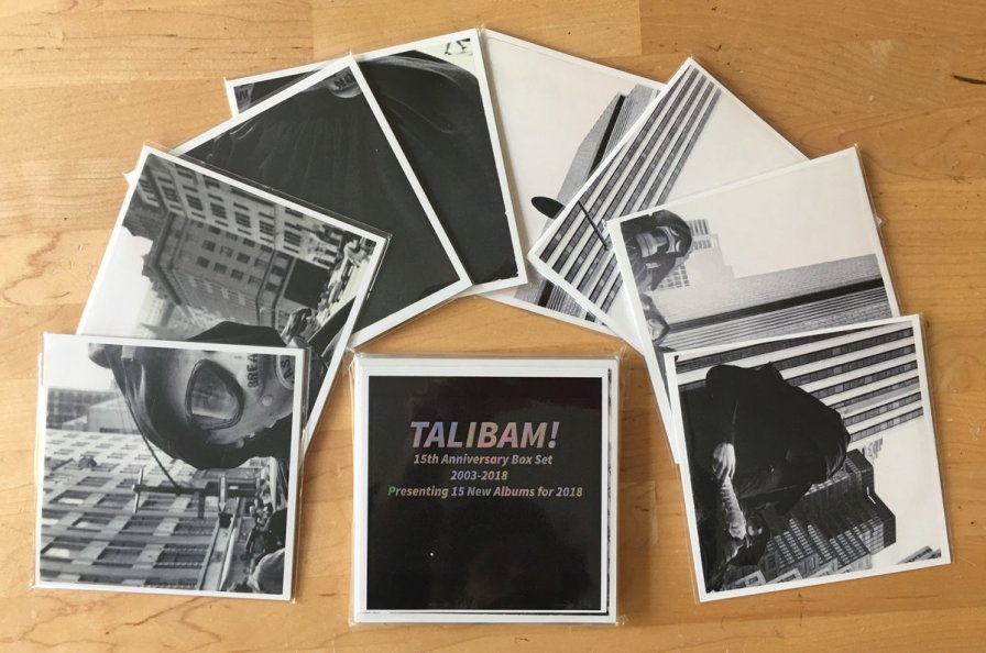 Talibam! to release ultra-limited box set containing 15 NEW albums in celebration of their 15th anniversary; announce German festival residency and tour dates