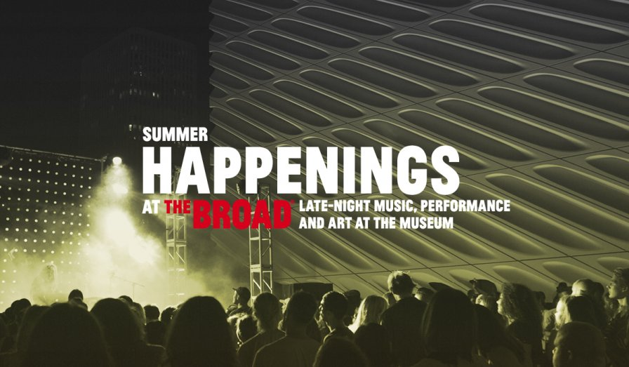 The Broad museum in LA details 2018 Summer Happenings, featuring Gang Gang Dance, Pharmakon, Matmos, and more