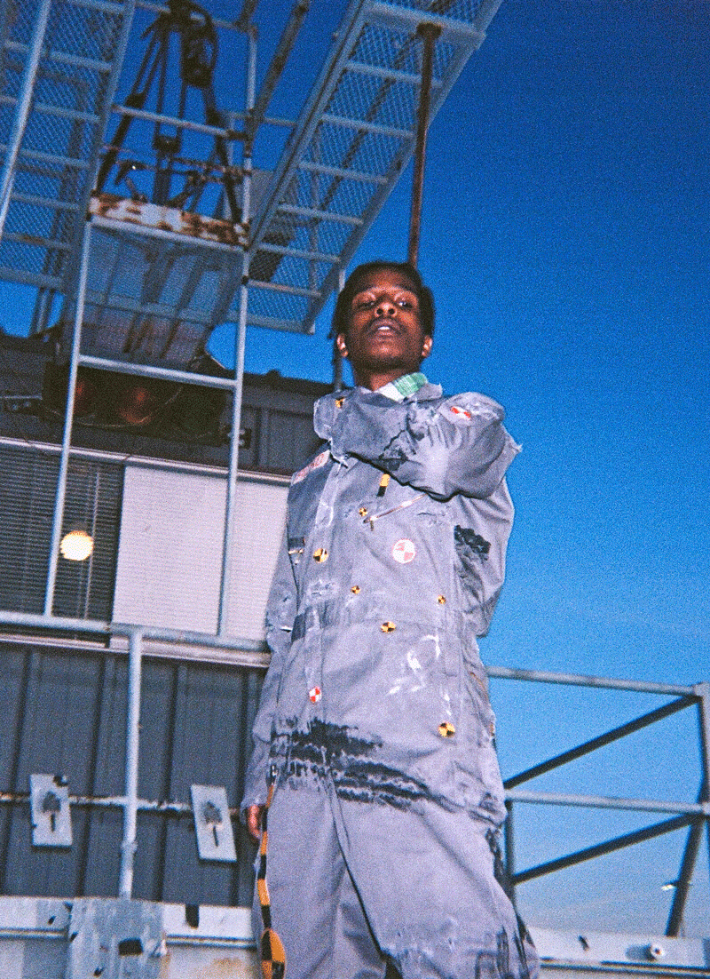 "A$AP Rocky drops new album ""Testing"" featuring Dean Blunt"