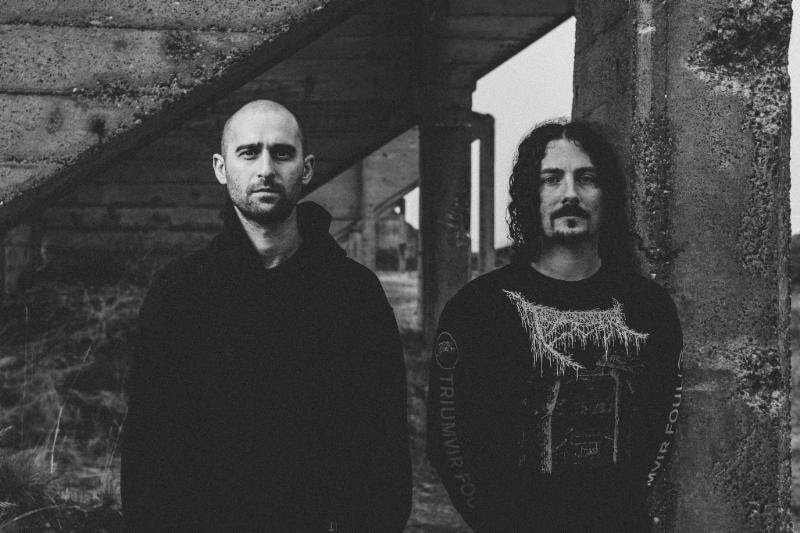 Bell Witch mount their Harley Davidson broomsticks for summer tour dates with Sleep and Yob in support of last year's Mirror Reaper