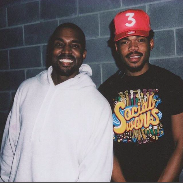 Chance the Rapper is making a 7-song album with Kanye West