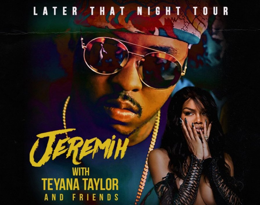 Jeremih announces tour with Teyana Taylor and friends
