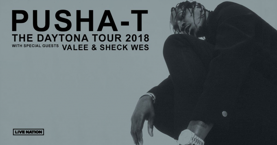 Pusha T plots The DAYTONA Tour with Valee and Sheck Wes