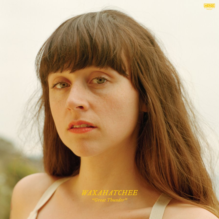 "And now a good joke about Waxahatchee making a ""booming statement"" with the announcement of their new EP Great Thunder"