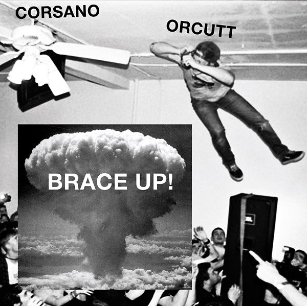 The title of the debut studio album from Chris Corsano and Bill Orcutt is a warning for your currently symmetrical face