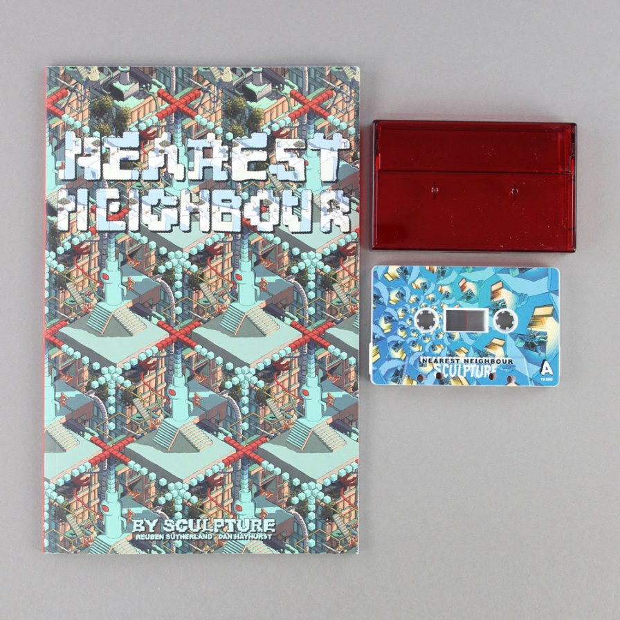 Sculpture release Nearest Neighbour, a new cassette/graphic novel that doesn't require multitasking