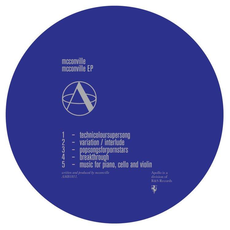 Apollo to release mcconville's debut EP this November