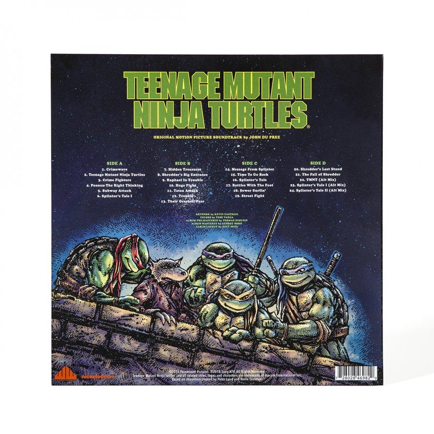 Waxwork Records preps first ever release of the original Teenage Mutant Ninja Turtles movie score