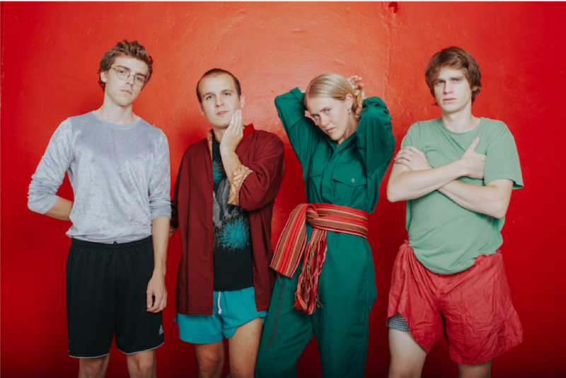 "Norwegian avant-pop quartet Pom Poko to release debut album via Bella Union, share new track ""My Blood"""