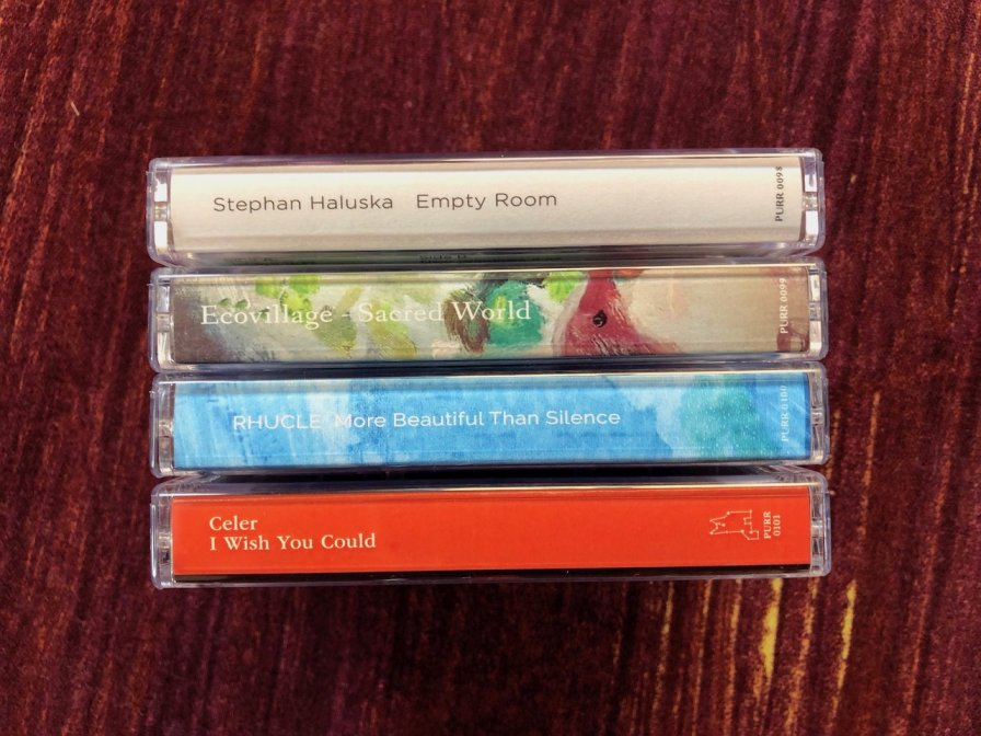 Constellation Tatsu takes us on a cosmic journey with their Fall cassette batch, out NOW; featuring Stephan Haluska, Ecovillage, Rhucle, and Celer