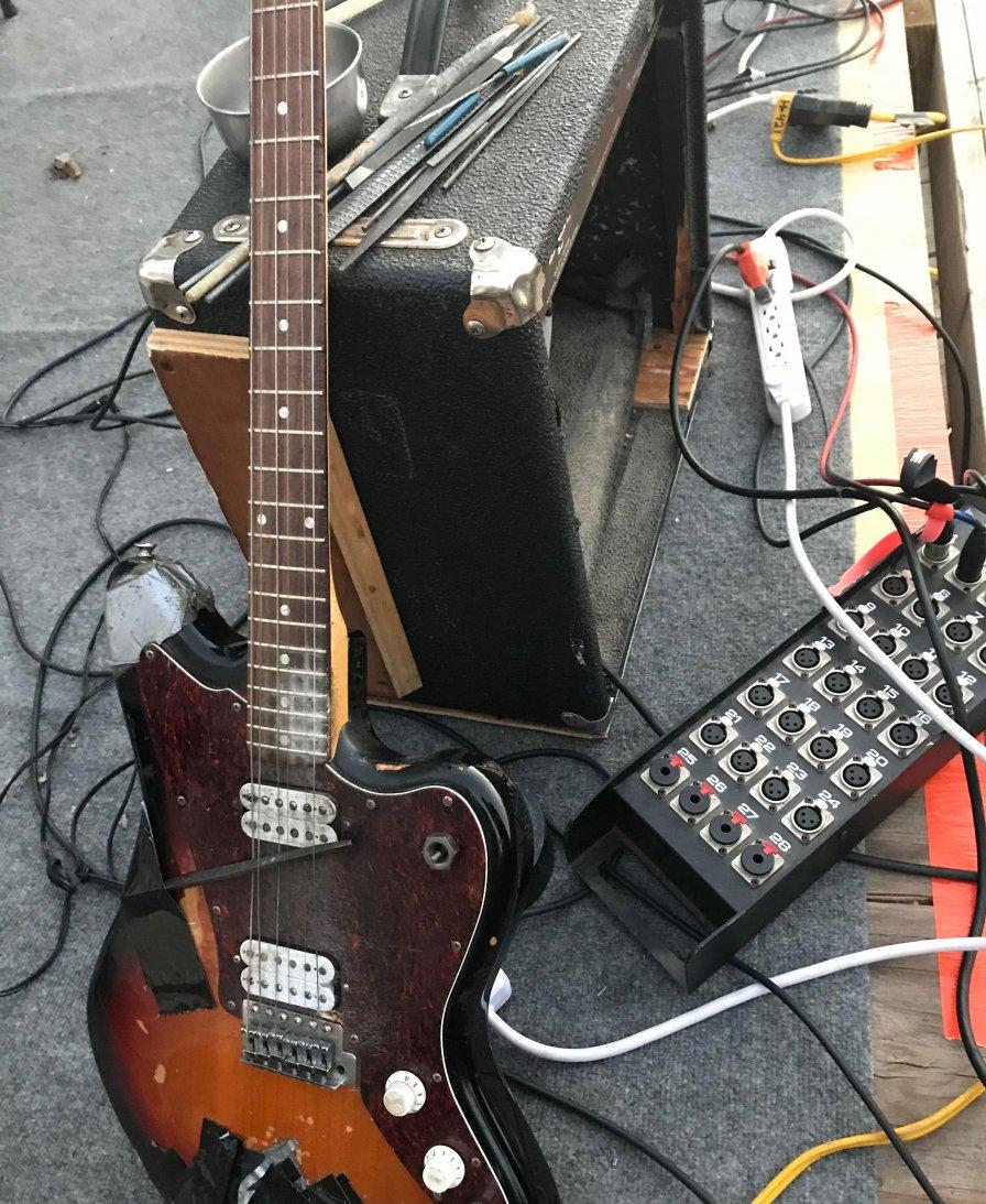 Bill Nace's guitar