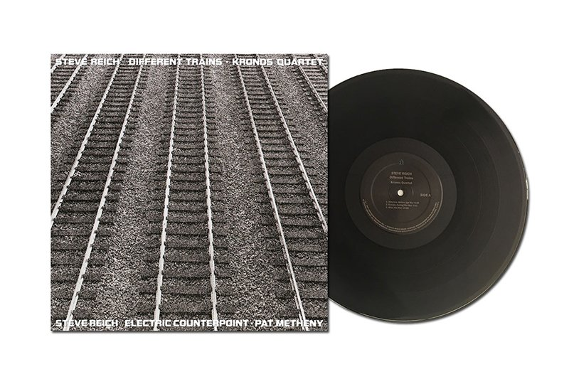 Steve Reich's 1989 Nonesuch recordings Different Trains and Electric Counterpoint get new vinyl reissue