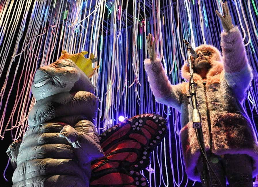 The Flaming Lips have a new album, and it's narrated by Mick Jones from The Clash?