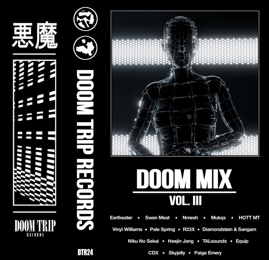 Doom Trip assembles Eartheater, NMESH, Mukqs, SWAN MEAT, and more friendly faces for Doom Mix Vol. III