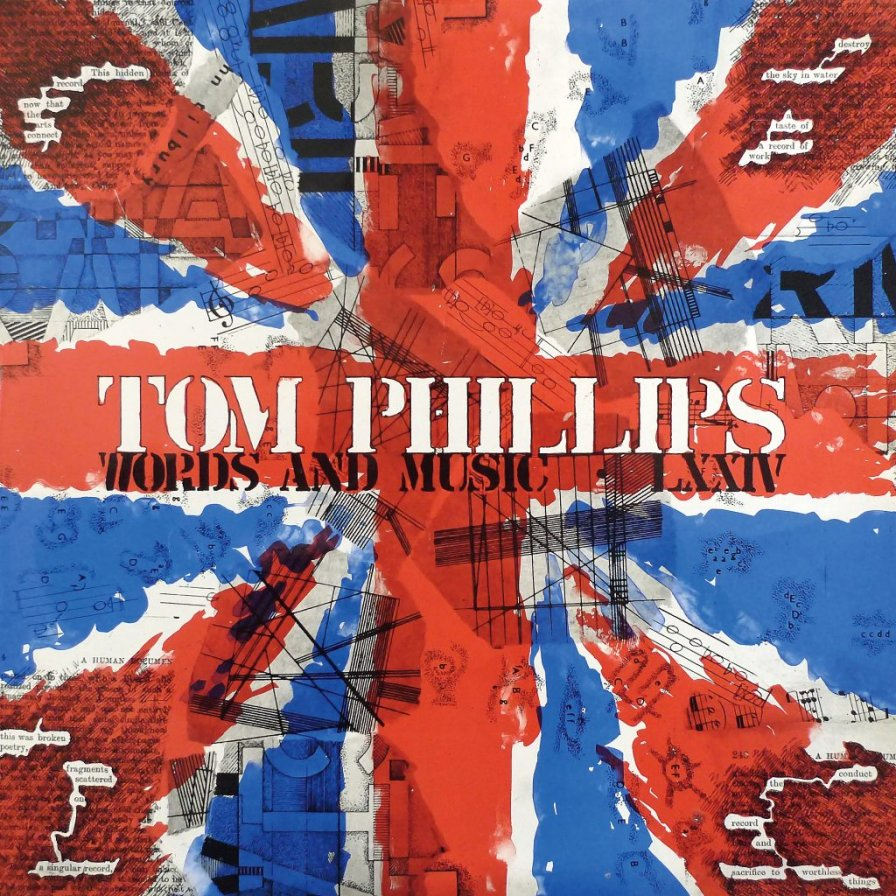 Recital to reissue rare and extremely British release Words and Music from multidisciplinary artist Tom Phillips