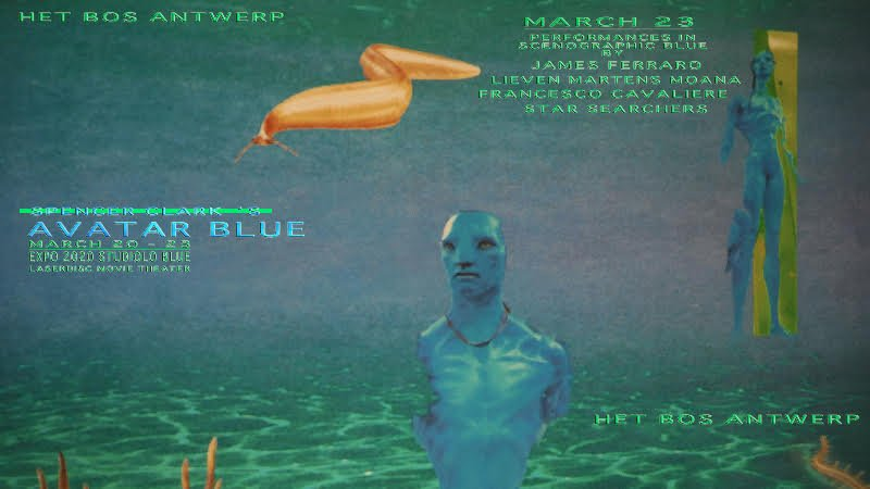 Soundvisionist Spencer Clark drops new album Avatar Blue, celebrates with release party ft. James Ferraro, Lieven Martens Moana, Francesco Cavliere, and more