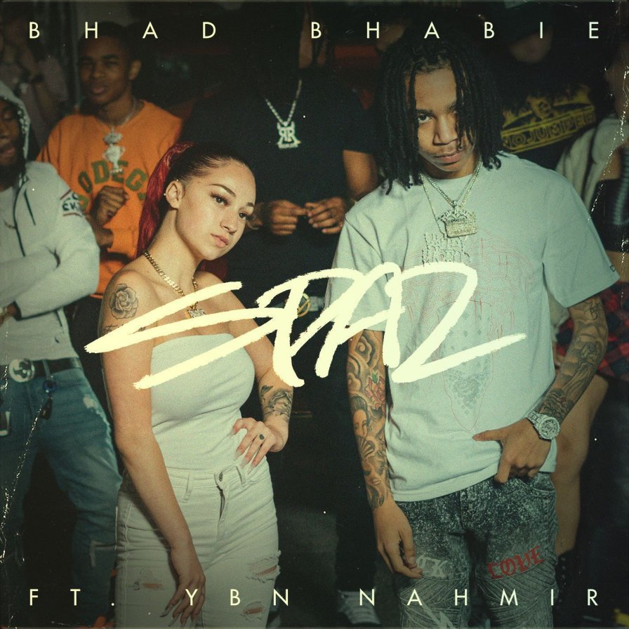 "Bhad Bhabie drops two new singles, ""Lotta Dem"" and ""Spaz (feat. YBN Nahmir)"""