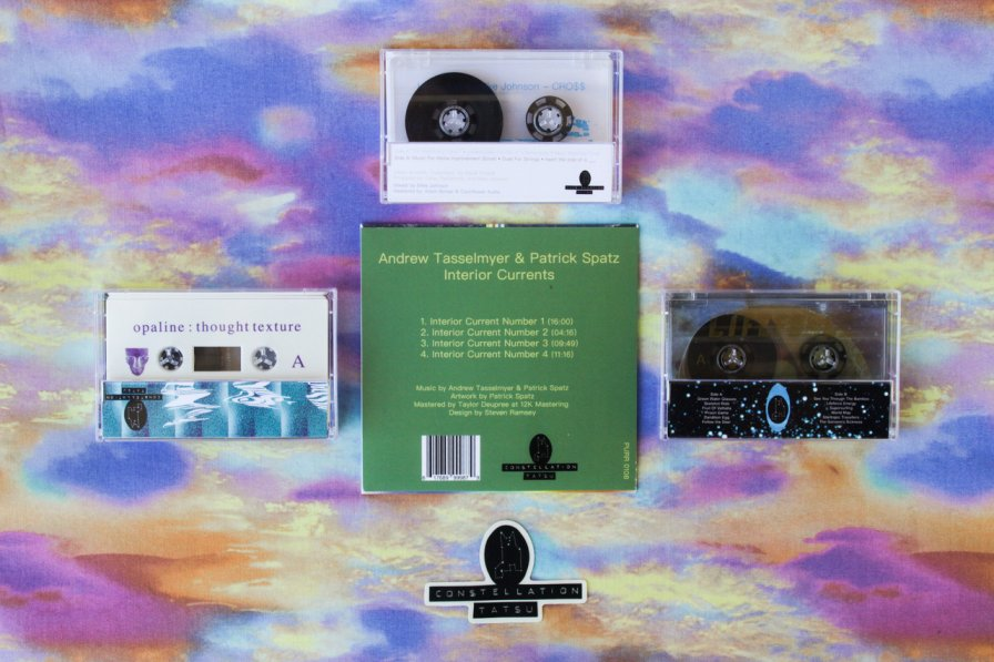Constellation Tatsu taketh, and Constellation Tatsu giveth with new cassettes from Opaline, Livingdog & Mike Johnson, Andrew Tasselmyer & Patrick Spatz, and Arrowheads