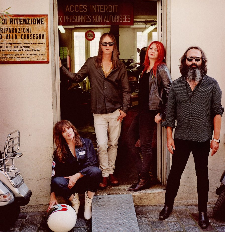 En garde! Debut album from L'Epee (Anton Newcombe, Emmanelle Seigner, The Limiñanas) out in September on A Recordings