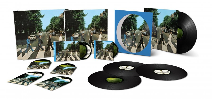 Because The Beatles' Abbey Road 50th Anniversary Box Set is coming, it turns me o, o-o, o-o-o-o, on