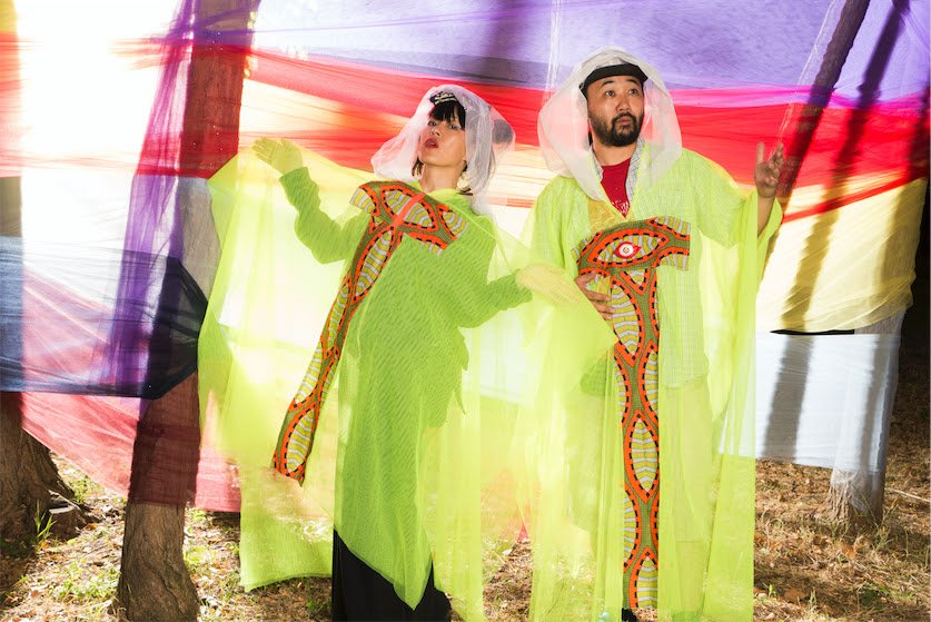 WaqWaq Kingdom (Kiki Hitomi & DJ Scotch Egg) blend timelines with new album Essaka Hoisa, out on Phantom Limb