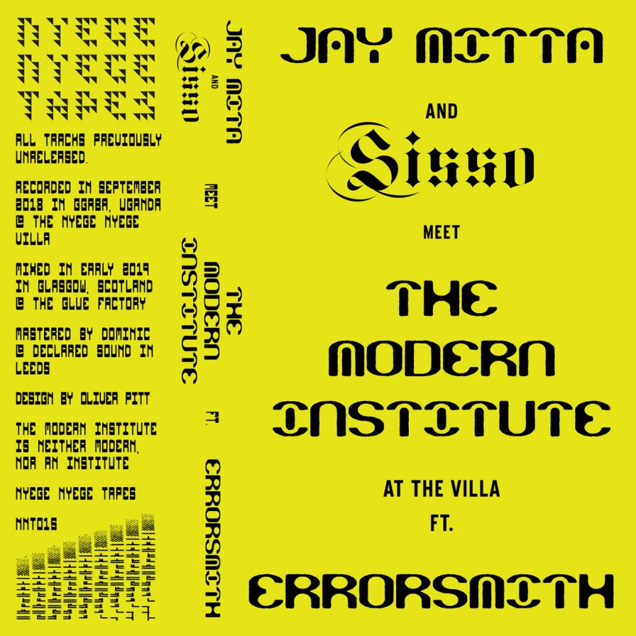 Nyege Nyege announces new mixtape series, feat. Jay Mita, Sisso, The Modern Institute, and Errorsmith; first release coming THIS FRIDAY