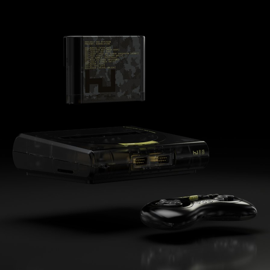 Hyperdub x Analogue release an ACTUAL game console with game cartridge music comp, titled Konsolation