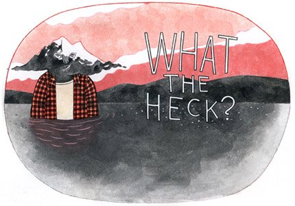 What the heck? We're already announcing this year's What the Heck Fest? And Earth are performing??