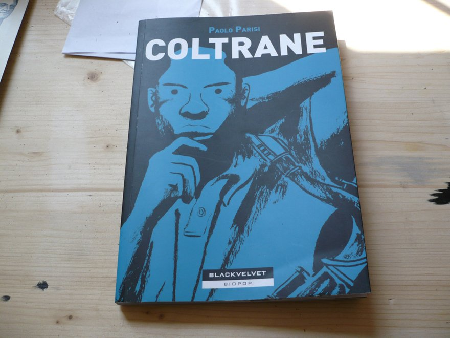 John Coltrane graphic novel to teach nerds and losers about the jazz legend in January