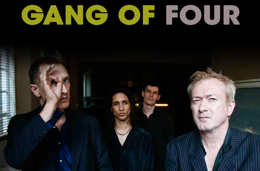 The REAL problem of leisure: which Gang of Four one-off event to attend in London?