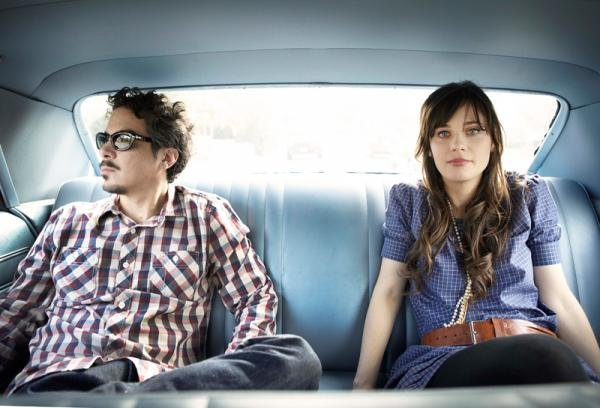Fun with pronouns: She & Him want you & me to go see them on their new tour