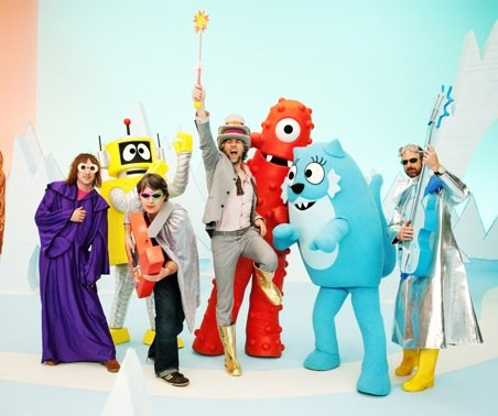The Flaming Lips may introduce children to acid on Yo Gabba Gabba! in November