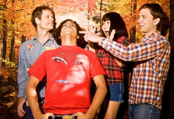 Deerhoof leak album via online treasure hunt, then they go on tour, then they eat a whole gallon of ice cream, 'cause Deerhoof is the most fun!