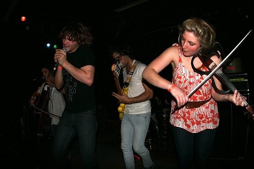 Ra Ra Riot announce first shows of 2011, don't know how to stop touring