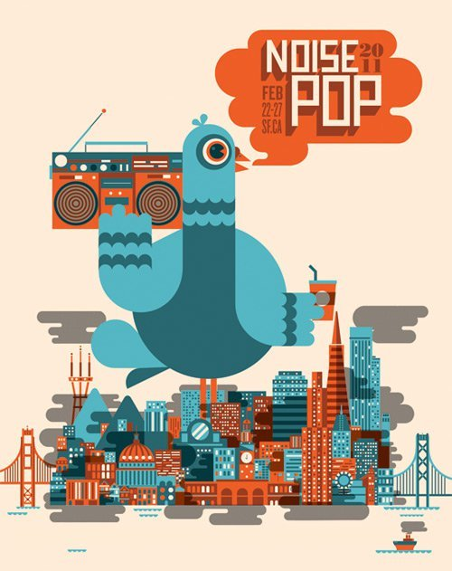 Noise Pop to take place February 22-27 with bands included