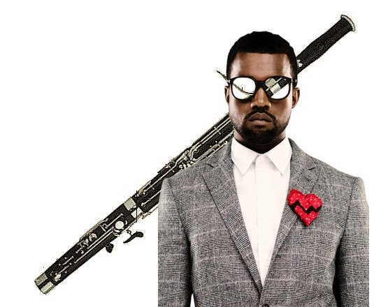 Kanye West keeps the momentum going by announcing a new solo album on top of his Jay-Z collab, even throwing some bassoon on that muthafucka