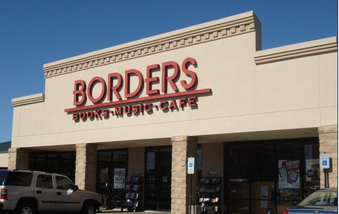 Borders finally goes under; files Chapter 11 and closes 200 stores