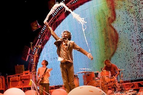 Flaming Lips are tourin', playin' some fests, releasin' vinyl box sets; you know, just the usual shit