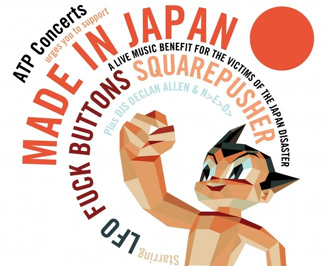 ATP announces Japan benefit show with Squarepusher, Fuck Buttons, and incentives galore