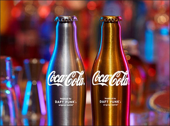 Harder, better, faster, more refreshing: Daft Punk to appear on Coca-Cola bottles