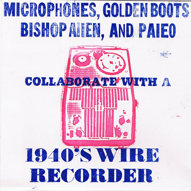 The Microphones and Bishop Allen lead charge against old-timey recording equipment with 7-inch single recorded on old-timey recording equipment