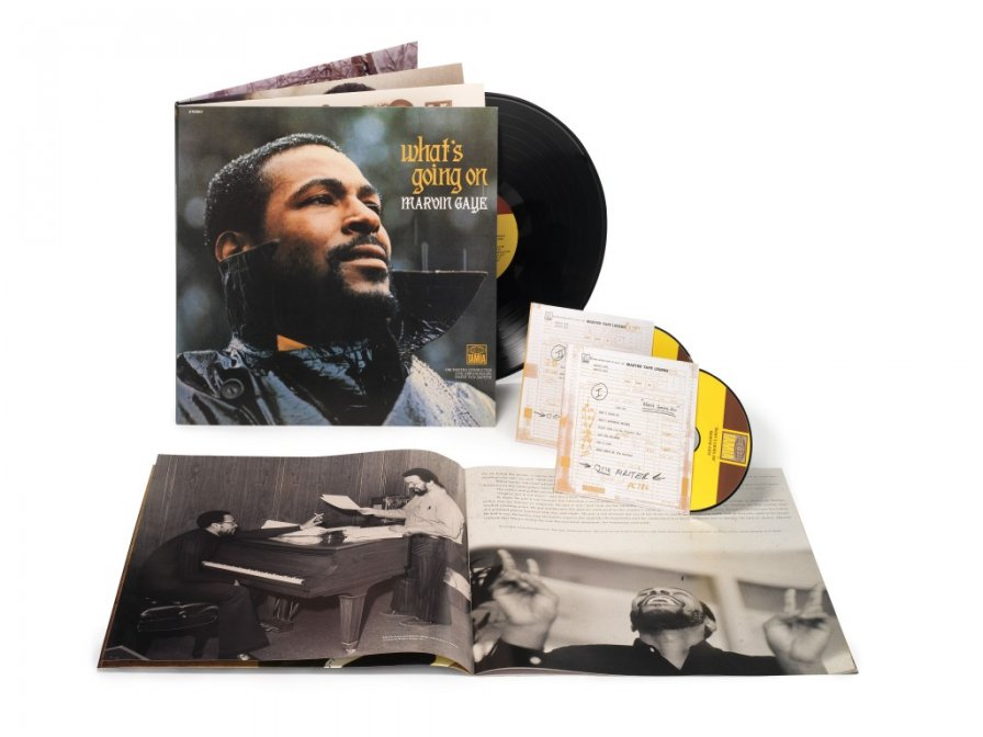Marvin Gaye's What's Going On reissued; please let there be a new all-star benefit cover...