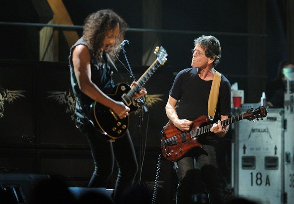 Lou Reed and Metallica teaming up for new record, because, okay, sure.