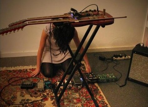 Yes, another news piece about Noveller, this one about her tour with U.S. Girls