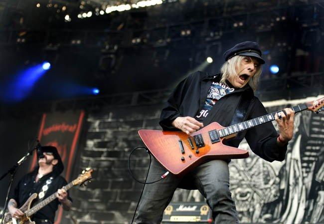 "RIP: Michael ""Würzel"" Burston of Motörhead"