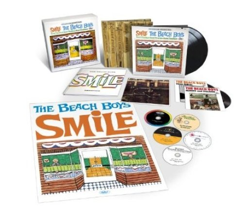 The Beach Boys' SMiLE Sessions finally gets release date; the world still waiting on Brian Wilson's Pleasure Island: A Rock Fantasy